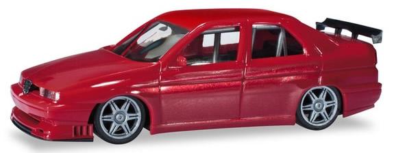 Herpa 430661 - Alfa Romeo 155 Racing Red