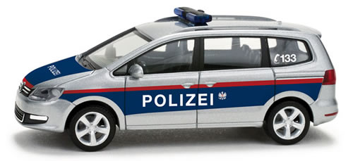 Herpa 49368 - Volkswagen Sharan Austrian highway patrol (A)