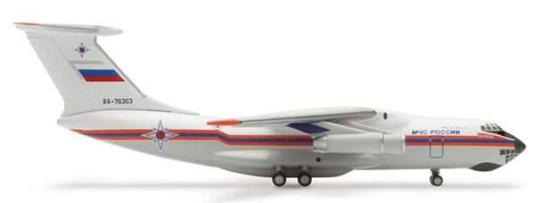Herpa 502313 - Ilyushin 76 (40.50) Russian E M S Transport