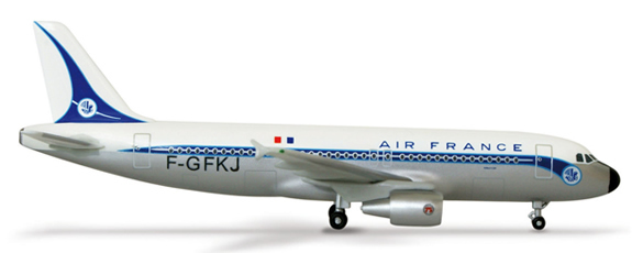 Herpa 502320 - Airbus 320 (32.50) Air France Retro