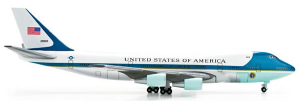 Herpa 502511 - United States Boeing 747-200 Air Force One