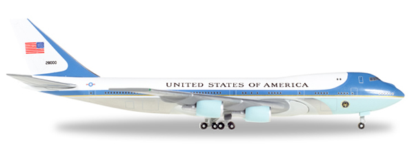 Herpa 502513 - Boeing 747-200 / Vc-25 502511-002 Air Force One