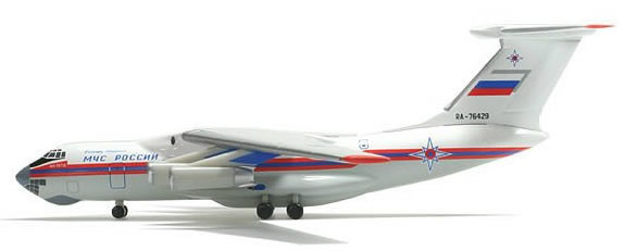 Herpa 503587 - Il-76 Extra Shop MCHS Levanesky