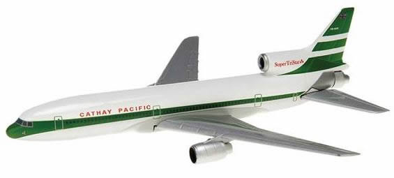 Herpa 504959 - Lockheed L-1011-385 (95.75) Cathay - 60th Anniver...