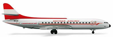 Herpa 505017 - Caravelle (32.95) Austrian Airlines