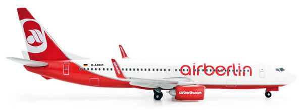 Herpa 505079 - Boeing 737-800 (35.50) Air Berlin