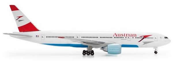 Herpa 506788 - Boeing 777-200er 506786-002 Austrian Airlines