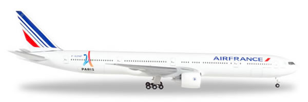 Herpa 506892 - Boeing 777-200 ER 506892-004 Air France, 2024 Oly...