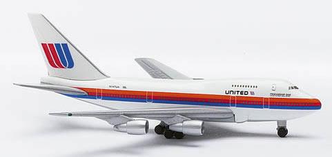 Herpa 511797 - Boeing 747 SP (11.95) Classic United - Friend Shi...
