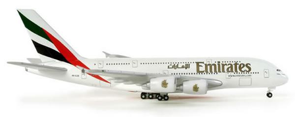 Herpa 514521 - Airbus 380-800 Emirates