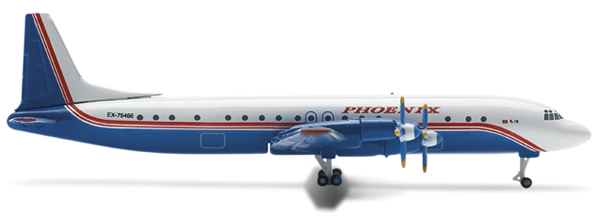 Herpa 514910 - Ilyushin Il-18 (27.50) Phoenix Aviation