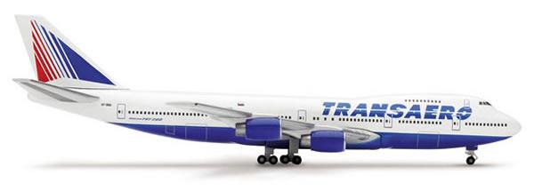 Herpa 515221 - Boeing 747-200 (40.50) Transaero