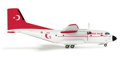Herpa 515658 - Transall C-160 (34.25) Turkish Stars
