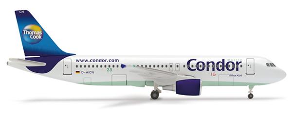 Herpa 515771 - Airbus 320 (31.50) Condor