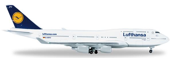 Herpa 516107 - Boeing 747-400 516105-002 Lufthansa