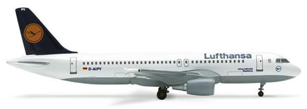 Herpa 516502 - Airbus 320-200 (35.95) 516501-001 Lufthansa