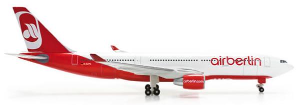 Herpa 517394 - Airbus 330-200 (44.50) 517393-001 Air Berlin
