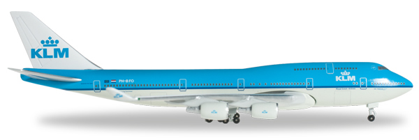 Herpa 517807 - Boeing 747-400 517805-002 KLM