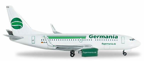 Herpa 517875 - Boeing 737-800 (40.75) Germania