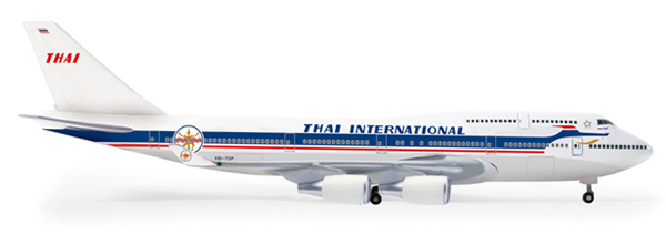 Herpa 517935 - Boeing 747-400 (42.50) Thai Airways 50th Annivers...