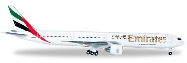 Herpa 518279 - Boeing 777-300er 518277-002 Emirates