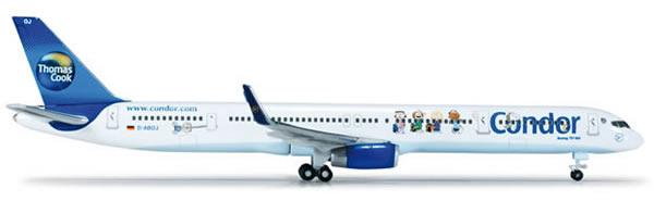Herpa 518536 - Boeing 757-300 (45.50) Condor - Peanuts