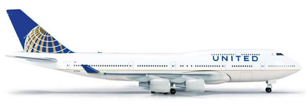 Herpa 518583 - Boeing 747-400 (48.95) 518581-002 United