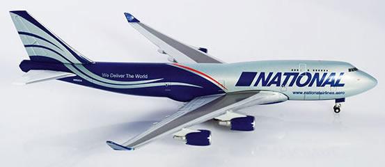 Herpa 518819 - Boeing 747-400 BCF 518819-001 National Air Cargo