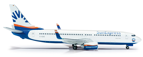 Herpa 519090 - Boeing 737-800 (32.75) Sun Express Germany