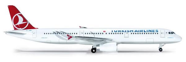 Herpa 519106 - Airbus 321 (32.75) Turkish Airlines
