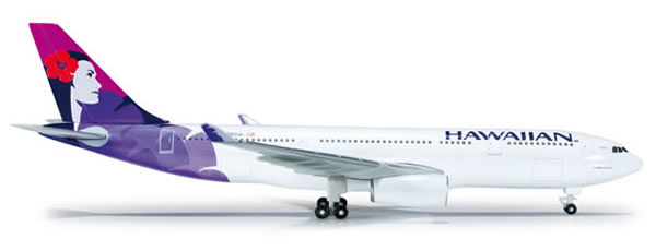 Herpa 519137 - Airbus 330-200 Hawaiian Airlines