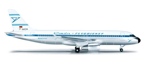 Herpa 519311 - Airbus 320 (32.50) Condor - Retro Design