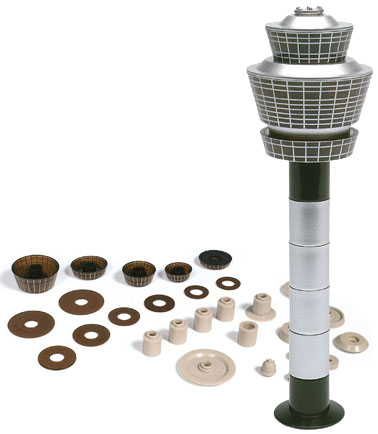 Herpa 519670 - Airport Tower Set