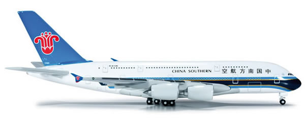 Herpa 520928 - Airbus 380 China Southern Airlines