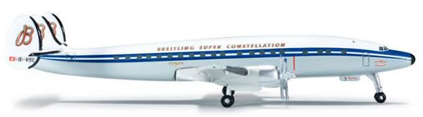 Herpa 523035 - Lockheed 1049H (37.95) Breitling