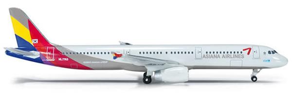 Herpa 523097 - Airbus 321 (36.50) Asiana