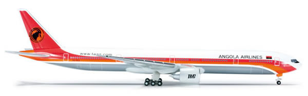 Herpa 523172 - Boeing 777-300er (41.50) Angola Airlines