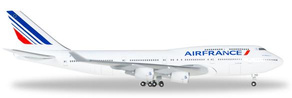 Herpa 523272 - Boeing 747-400 523271-001 Air France - Last 747
