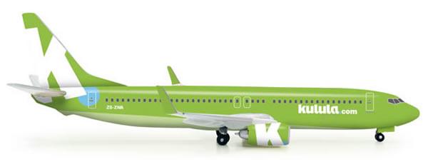 Herpa 523325 - Boeing 737-800 Kulula - 2012 Colors