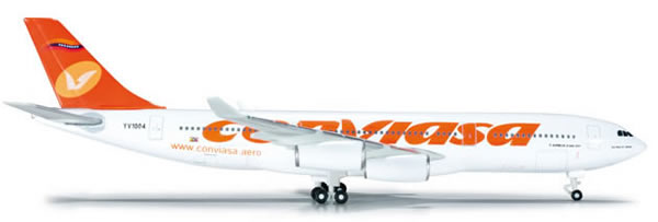 Herpa 523417 - Airbus 340-200 Extra Shop Conviasa