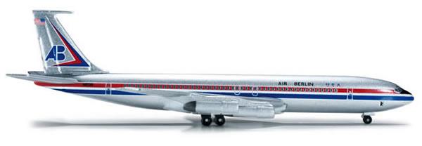 Herpa 523578 - Boeing 707-300 Extra Shop Air Berlin USA