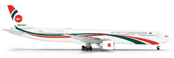 Herpa 523769 - Boeing 777-300er (43.95) Biman Bangladesh