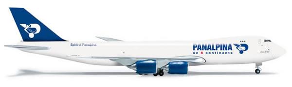 Herpa 523783 - Boeing 747-8f (54.95) Panalpina