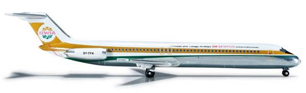Herpa 523813 - Douglas DC-9-50 Extra Shop BWIA