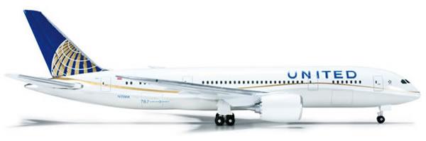 Herpa 523837 - Boeing 787-8 United