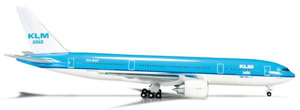 Herpa 523868 - Boeing 777-200 (44.95) KLM Asia