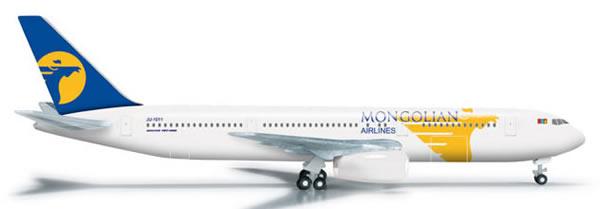Herpa 523905 - Boeing 767-300 (43.95) Miat - Mongolian Airlines
