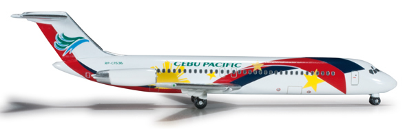 Herpa 524049 - DC-9 Extra Shop Cebu Pacific