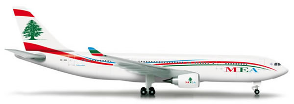 Herpa 524117 - Airbus 330-200 MEA - Middle East Airlines