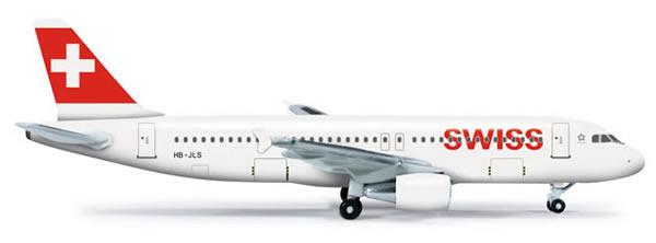 Herpa 524162 - Airbus 320 (35.50) Swiss International